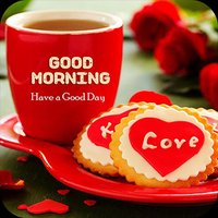 Good Morning Night Afternoon wishing cards