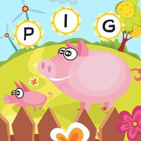 ABC Farm games for children: Train your word spelling skills of animals for kindergarten and pre-school