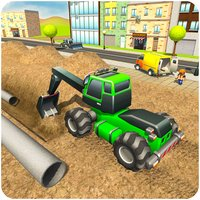 City Pipeline Construction Sim