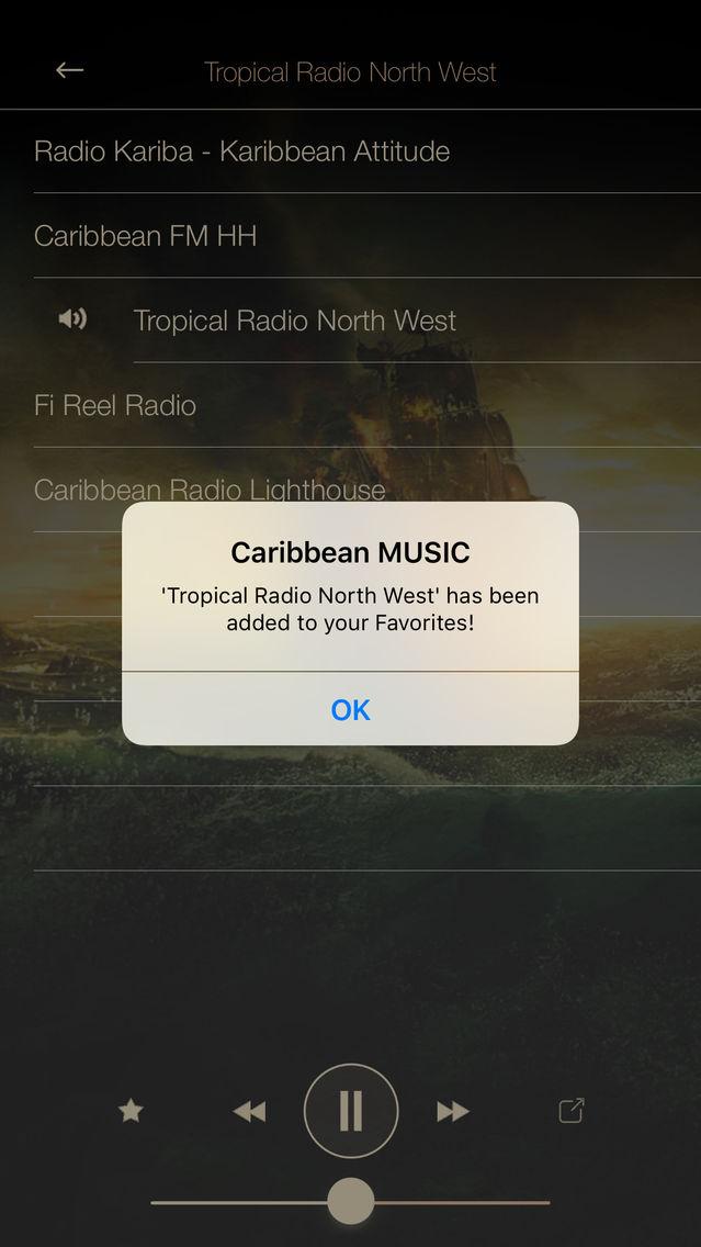 Caribbean Music ONLINE Radio Stream App for iPhone - Free