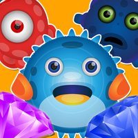 A Monster Diamond Shooter - Match Three Puzzle Maze