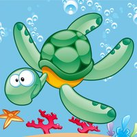 A Sort By Size Game for Children: Learn and Play with Marine Animals