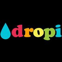dropi - minimal design digital, clock, watch, for your desktop