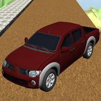 Hill Monster Truck Climb & Driving Game