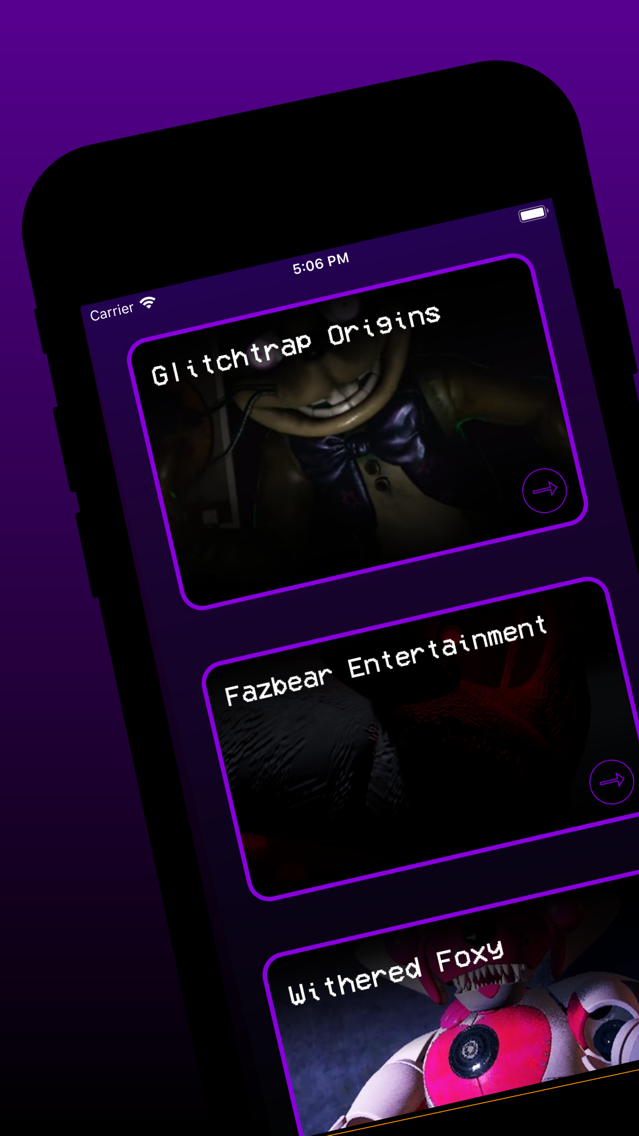 Cheat Sheet: FNAF Help Wanted App for iPhone - Free Download