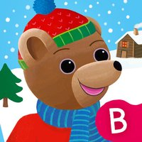 Les surprises de l'hiver avec Petit Ours Brun. Apprendre en s'amusant les quatre saisons.