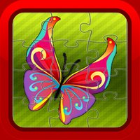 Butterfly Jigsaw Puzzles Games for Preschool Kids