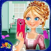 Bridal Shower Selfie Salon - Makeover & dress up game fun for wedding party