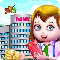 Kids Bank Management Job – Cashier Game