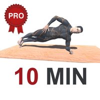 10 Min PLANKS Workout Challenge PRO - Tone, Abs