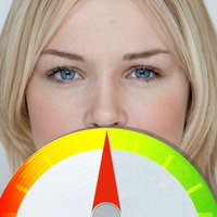 Perfect face meter