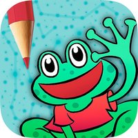 Play and Color Animals game for kids - Connect dots and paint the drawings