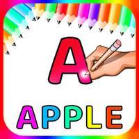 Alfabets Colour Drawing Book