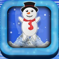 Snow-Man Christmas Holiday North Pole Frosty Town Jump