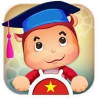 Bảng chữ cái tiếng Anh, tiếng Việt, số đếm, ghép hình & game trí tuệ cho bé