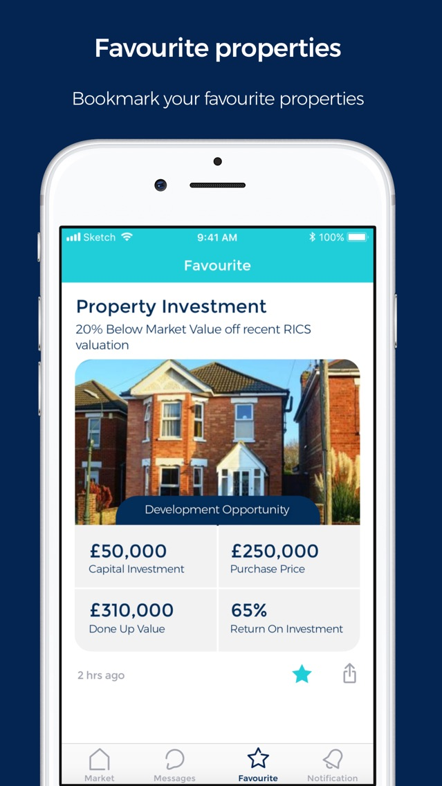 your investment property ipad 2