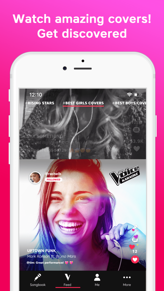 The Voice - Sing Karaoke App for iPhone - Free Download The