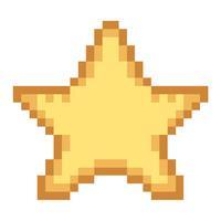 Falling Pixel Star PRO