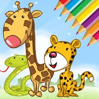 Animals Cute Coloring Book for kids - Drawing game