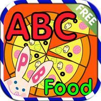 ABC Alphabet Food Flashcards Write