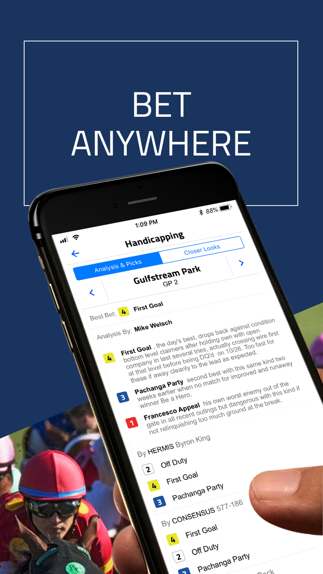 DRF - Horse Race Betting App App for iPhone - Free Download
