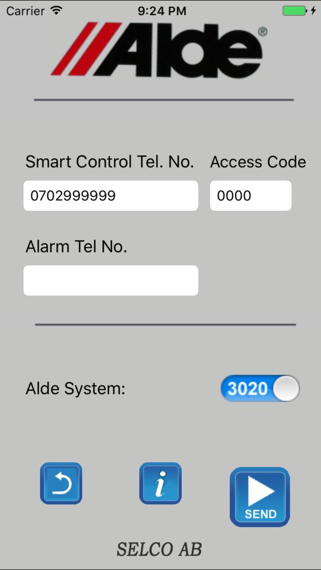 Control sms smart alde Buy a