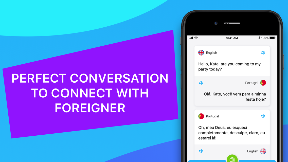 Voicelator - Voice Translator App for iPhone - Free Download