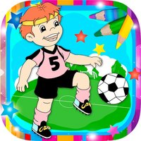Paint magic football – coloring players and teams