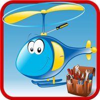 Build Helicopter – Crazy garage game for little mechanic