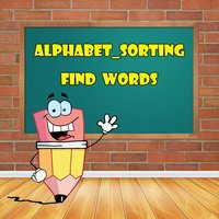 Letter, Spelling, Vocabulary, Sorting - Find Words
