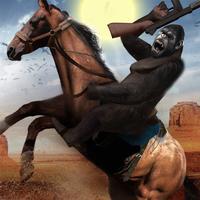 Wild West Cowboy Vs Gorilla