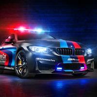 警车驾驶-卡通飞车都市狂飙