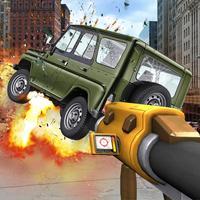 Destroy UAZ Car Simulator