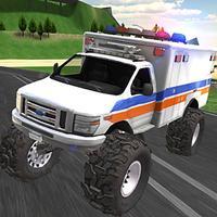 Monster Truck Driving Rally