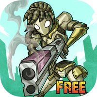 Rusty Gunner Robot - Timeless Free Shooting game
