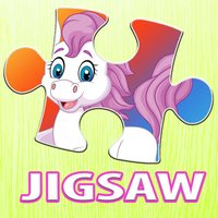 Cartoon Puzzle Pony Jigsaw Puzzles Box For Kids