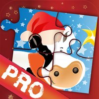 Xmas Jigsaws Game: Farm PRO
