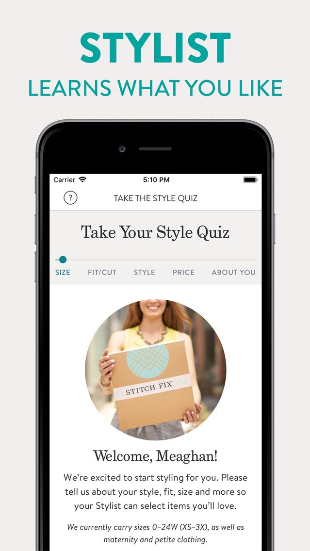 Stitch Fix - Personal Stylist App for iPhone - Free Download