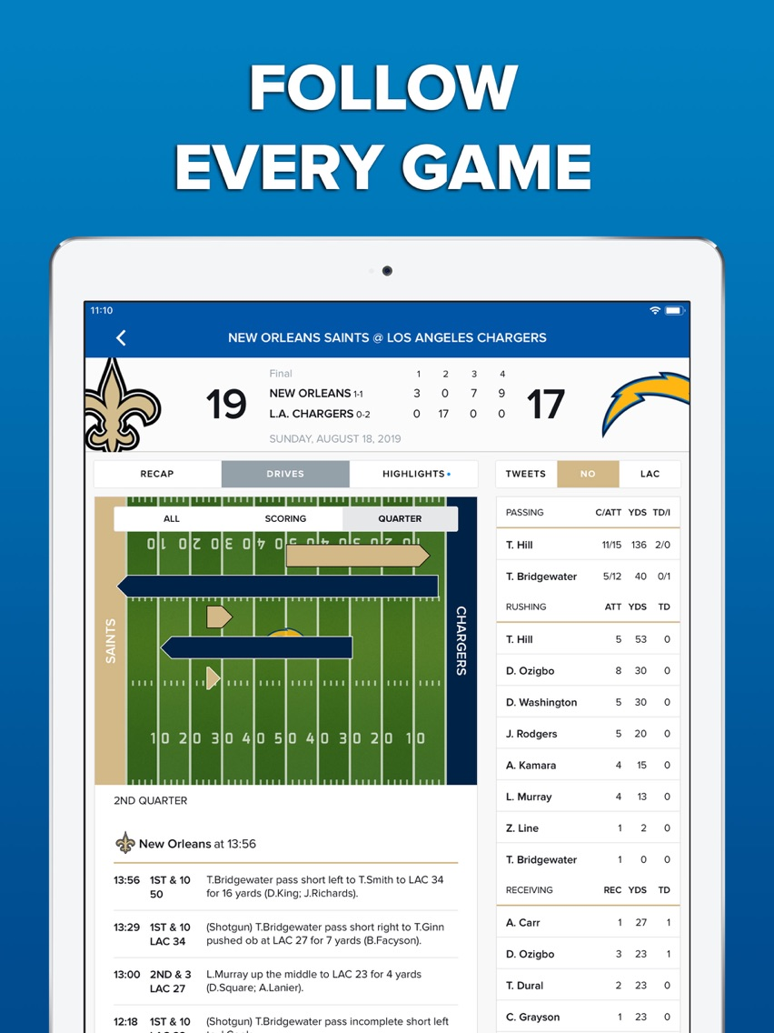 CBS Sports App Scores & News App for iPhone - Free Download