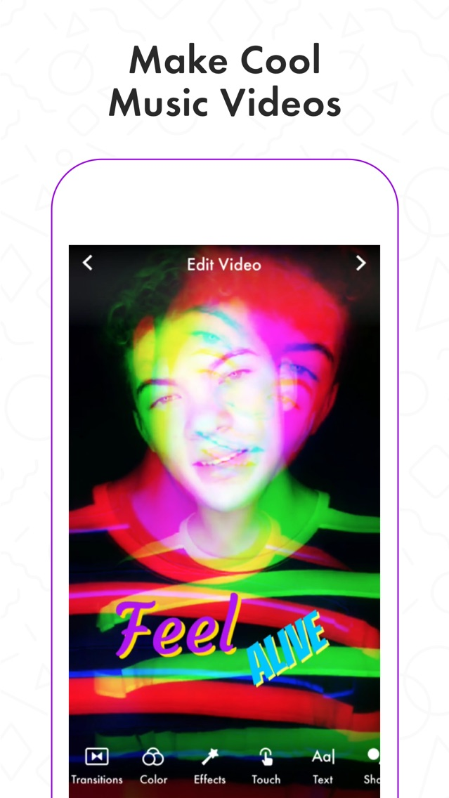 Funimate Video Musical Editor App for iPhone - Free Download