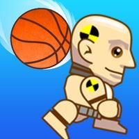 Crash Test Dummy Dodge Ball - Avoid the Falling Objects