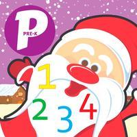 Pre k Math Smart Kids - Christmas Numbers Games