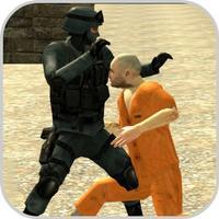 Police Fight Crime Escape