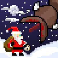 Super Mega Worm Vs Santa Saga