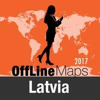 Latvia Offline Map and Travel Trip Guide
