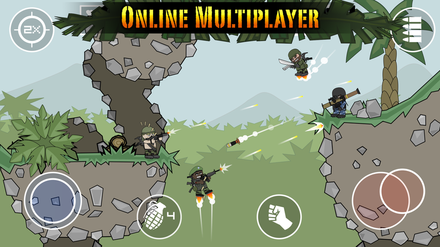 Doodle Army 2 : Mini Militia easy download FaqonTech