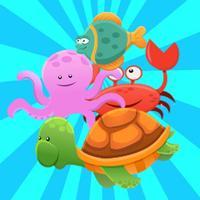 Fish Animal Matching  Game For Free Kids Toddler