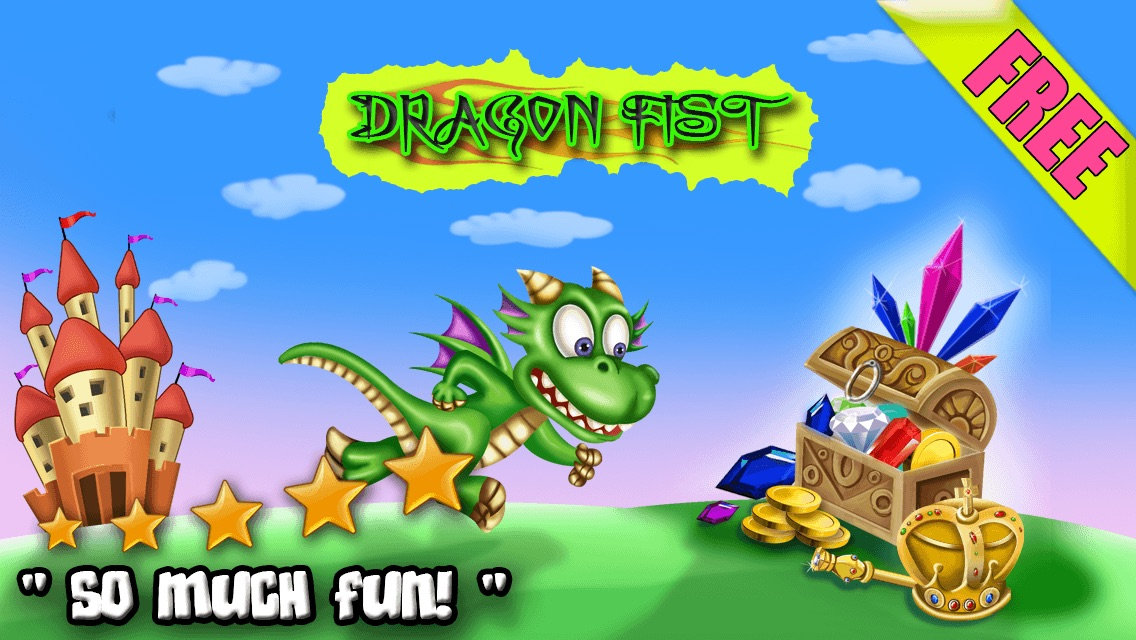 Dragon Fist - Cute Magic City Running Action Game For Kids