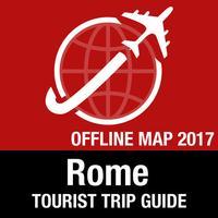 Rome Tourist Guide + Offline Map