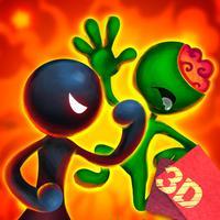 Sticky Man Zombie Fight Arena